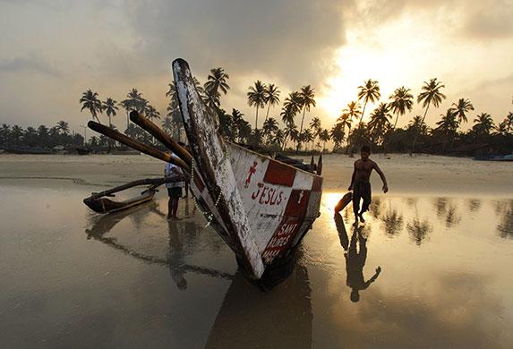 Fisherman : Goa, India