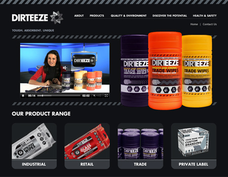 Dirteeze - taking cleaning to a whole new level