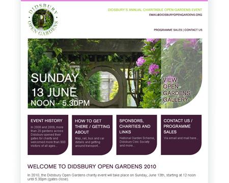 Didsbury Open Gardens 2010