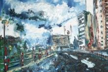 Oil on Canvas : Chaz Newton Smith