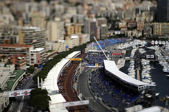 Monaco Grand Prix Practice Session