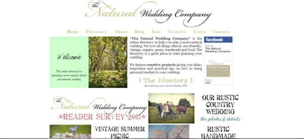 The original Natural Wedding Company