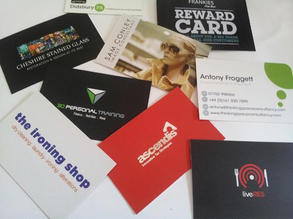 WeAreLife designed business cards