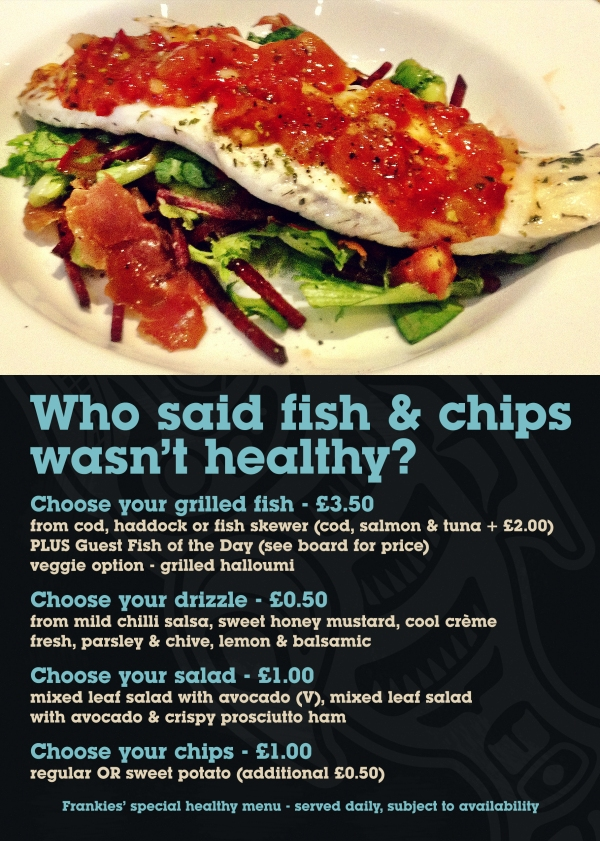 Frankie's Fish Bar, West Didsbury - additional design work