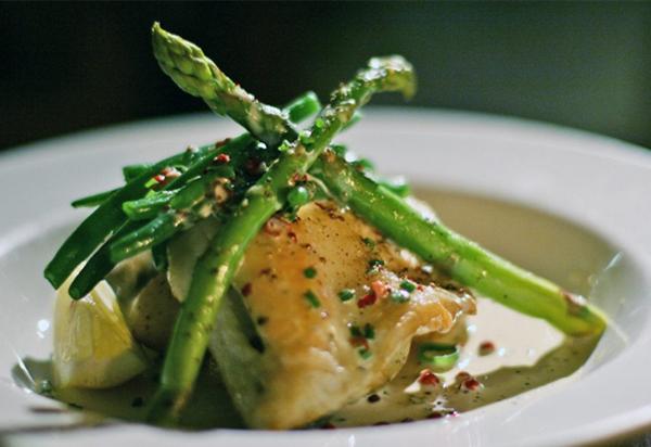 Sea Bass Fillet - Azzurro Restaurant, West Didsbury