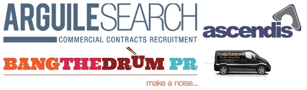 Arguile Search, Ascendis Accountants, Bang The Drum PR, Cheshire Stained Glass