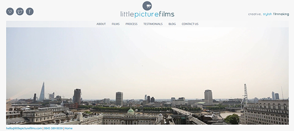 Little Picture Films Website