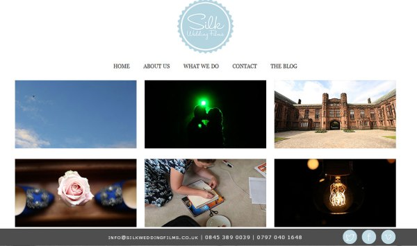 Silk Wedding Films Website