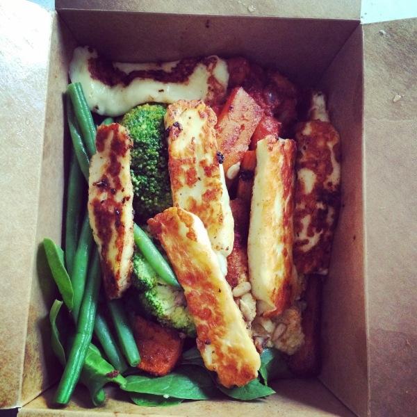 Medium Halloumi Protein Box