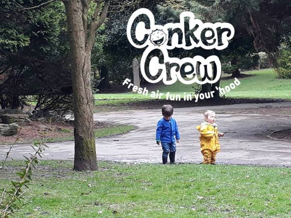 Logo design for The Conker Crew, South Manchester