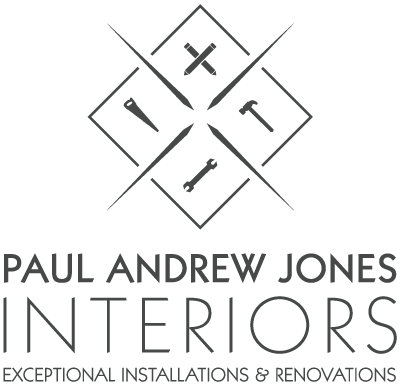 Logo design for Paul Andrew Jones Interiors